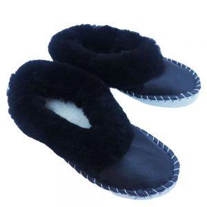 Kožušinové papuče – pánsken